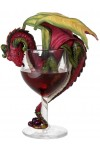 Red Wine Dragon Statue