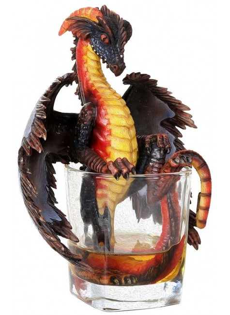 Rum Dragon Statue at Gothic Plus, Gothic Clothing, Jewelry, Goth Shoes & Boots & Home Decor