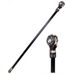Steampunk Skeleton Hand Walking Stick Cane Gothic Plus Gothic Clothing, Jewelry, Goth Shoes & Boots & Home Decor