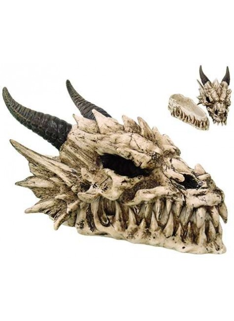 Dragon Skull Box at Gothic Plus, Gothic Clothing, Jewelry, Goth Shoes & Boots & Home Decor