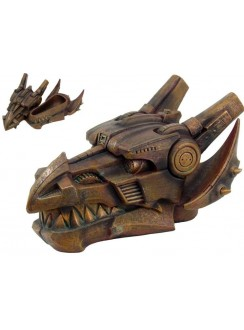 Steampunk Dragon Head Trinket Box