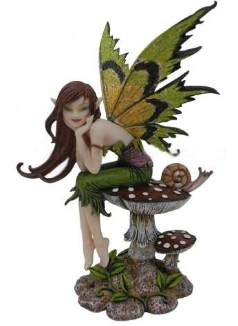 Thinking of You Fairy Statue at Gothic Plus, Gothic Clothing, Jewelry, Goth Shoes & Boots & Home Decor