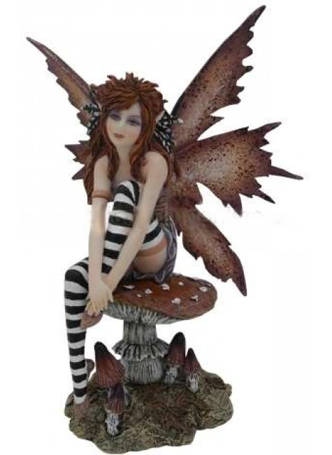 Naughty Fairy Statue at Gothic Plus, Gothic Clothing, Jewelry, Goth Shoes & Boots & Home Decor