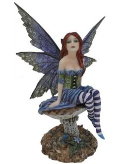 Bottom of the Garden Fairy Statue Gothic Plus Gothic Clothing, Jewelry, Goth Shoes & Boots & Home Decor