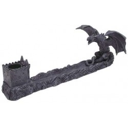 Castle Dragon Incense Burner Gothic Plus Gothic Clothing, Jewelry, Goth Shoes & Boots & Home Decor