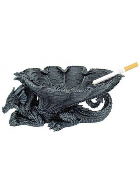 Winged Dragon Ashtray at Gothic Plus, Gothic Clothing, Jewelry, Goth Shoes & Boots & Home Decor