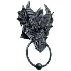 Dragon Head Door Knocker Gothic Plus Gothic Clothing, Jewelry, Goth Shoes & Boots & Home Decor