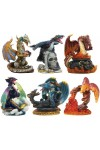 Dragons Set of 6 Small Statues