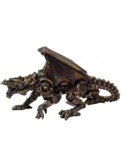 Steampunk Mechanical Dragon Statue Gothic Plus Gothic Clothing, Jewelry, Goth Shoes & Boots & Home Decor