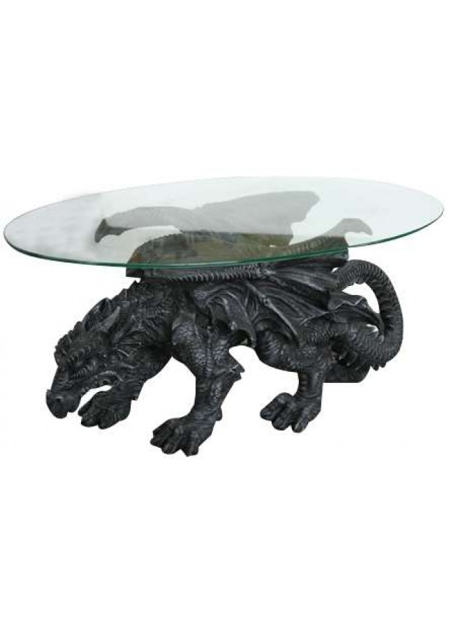 Remarkable Shire Dragon Glass Topped Coffee Table Gmtry Best Dining Table And Chair Ideas Images Gmtryco