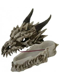 Dragon Skull Incense Burner Gothic Plus Gothic Clothing, Jewelry, Goth Shoes & Boots & Home Decor
