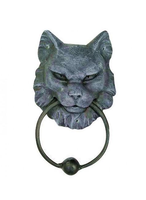 Gargoyle Cat Door Knocker