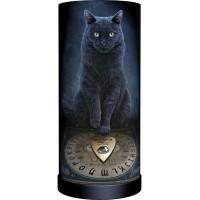 Masters Voice Black Cat Lamp by Lisa Parker