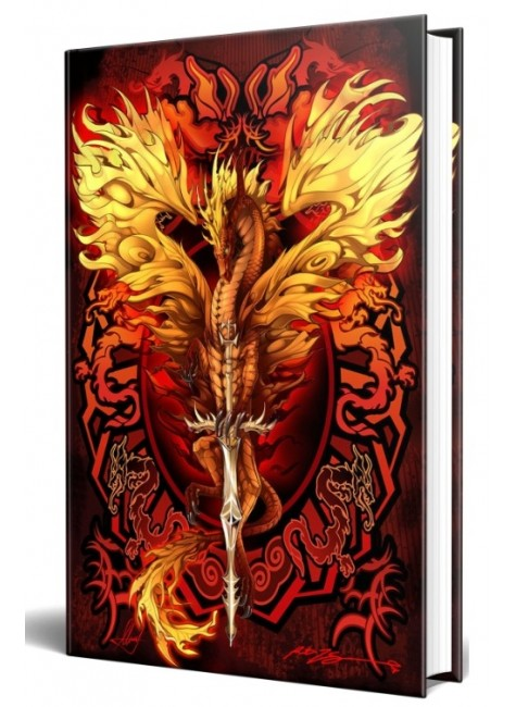 Dragon Flame Blade Embossed Journal at Gothic Plus, Gothic Clothing, Jewelry, Goth Shoes & Boots & Home Decor