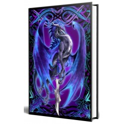 Dragon Storm Blade Embossed Journal Gothic Plus Gothic Clothing, Jewelry, Goth Shoes & Boots & Home Decor