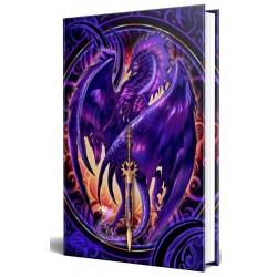Dragon Nether Blade Embossed Journal Gothic Plus Gothic Clothing, Jewelry, Goth Shoes & Boots & Home Decor