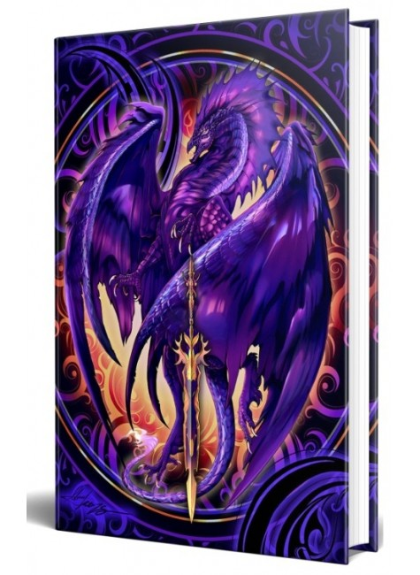 Dragon Nether Blade Embossed Journal at Gothic Plus, Gothic Clothing, Jewelry, Goth Shoes & Boots & Home Decor
