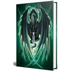 Dragon Skull Blade Embossed Journal Gothic Plus Gothic Clothing, Jewelry, Goth Shoes & Boots & Home Decor