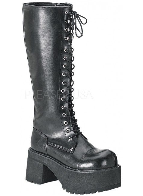 Ranger Mens Combat Boot at Gothic Plus, Gothic Clothing, Jewelry, Goth Shoes & Boots & Home Decor