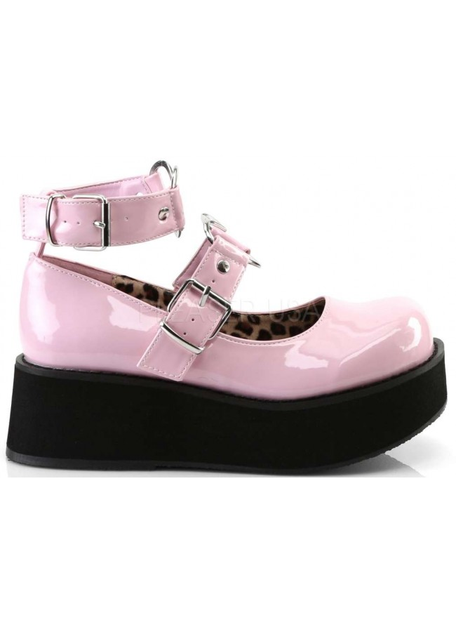 01f1797c54b Sprite Heart Ring Baby Pink Platform Mary Jane - Heart Ring Ankle ...