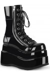 Bear Black Womens Platform Boot