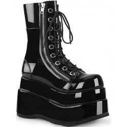 Bear Black Womens Platform Boot Gothic Plus Gothic Clothing, Jewelry, Goth Shoes & Boots & Home Decor