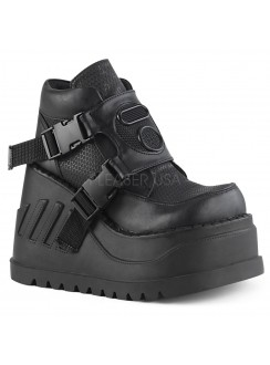 Stomp Wedge Platform Sneaker for Women Gothic Plus Gothic Clothing, Jewelry, Goth Shoes & Boots & Home Decor
