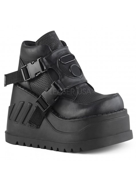 Stomp Wedge Platform Sneaker for Women at Gothic Plus, Gothic Clothing, Jewelry, Goth Shoes & Boots & Home Decor