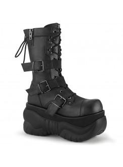 Boxer Unisex Platform Mid-Calf Boot