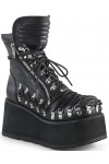 Clash Corseted Womens Motorcycle Boots