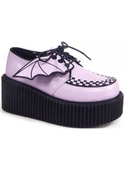 Pink Bat Wing Creepers for Women Gothic Plus Gothic Clothing, Jewelry, Goth Shoes & Boots & Home Decor