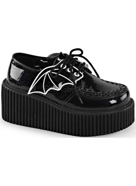 Demonia Womens Creeper Bat Shoes