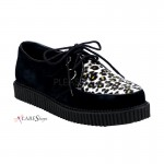Leopard Mens Creeper Loafer