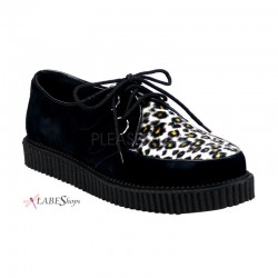 Leopard Mens Creeper Loafer Gothic Plus Gothic Clothing, Jewelry, Goth Shoes & Boots & Home Decor