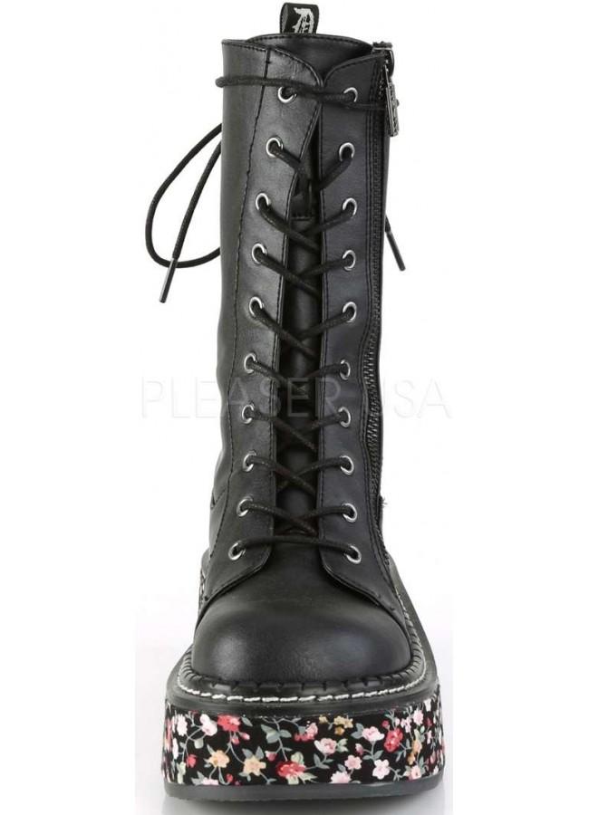 Demonia Emily 350 Lace-Up Boot (Women's) P5sIETMR