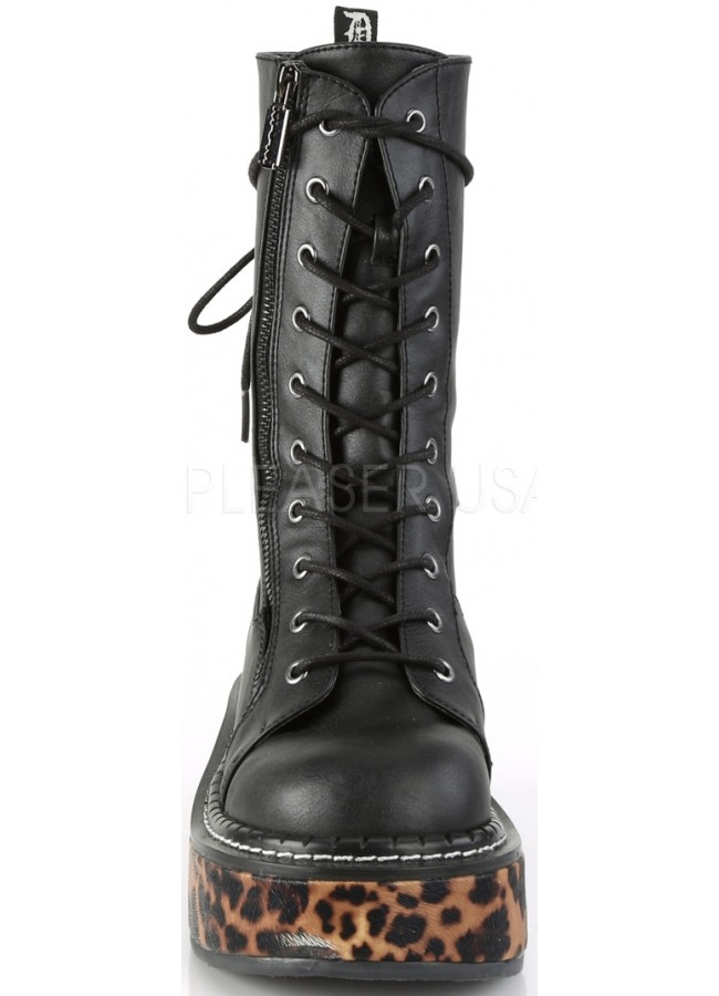 840011667ca5 ... Emily Leopard Platform Mid-Calf Boot at Gothic Plus