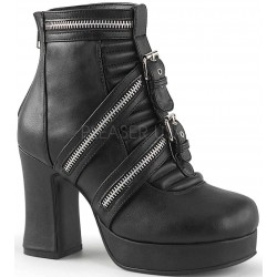 Zippered Gothic Platform Boots for Women Gothic Plus Gothic Clothing, Jewelry, Goth Shoes & Boots & Home Decor