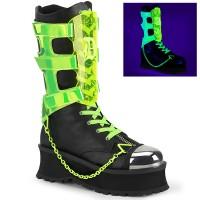 Gravedigger Mens Cyber Goth Boots