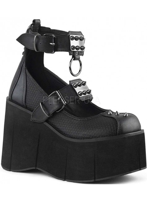 Kera Platform Ankle Strap Mary Jane Gothic Lolita Shoe at Gothic Plus, Gothic Clothing, Jewelry, Goth Shoes & Boots & Home Decor
