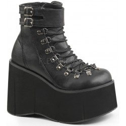 Kera Black Platform Ankle Boots Gothic Plus Gothic Clothing, Jewelry, Goth Shoes & Boots & Home Decor