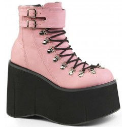 Kera Pink Platform Ankle Boots Gothic Plus Gothic Clothing, Jewelry, Goth Shoes & Boots & Home Decor