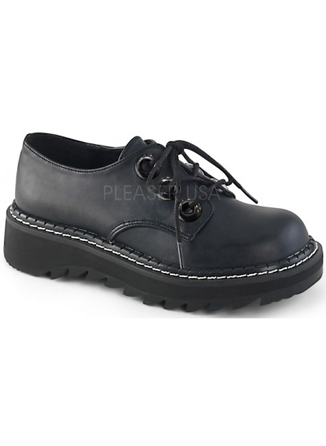 Lilith Womens Oxford Shoe at Gothic Plus, Gothic Clothing, Jewelry, Goth Shoes & Boots & Home Decor