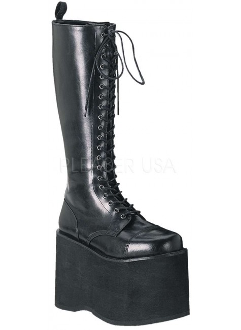 Mega Mens Gothic Platform Boot at Gothic Plus, Gothic Clothing, Jewelry, Goth Shoes & Boots & Home Decor