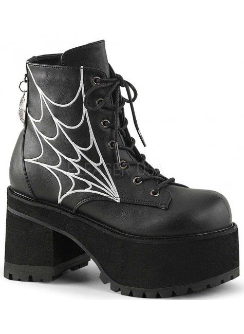Webbed Ranger Womens Gothic Platform Boot at Gothic Plus, Gothic Clothing, Jewelry, Goth Shoes & Boots & Home Decor