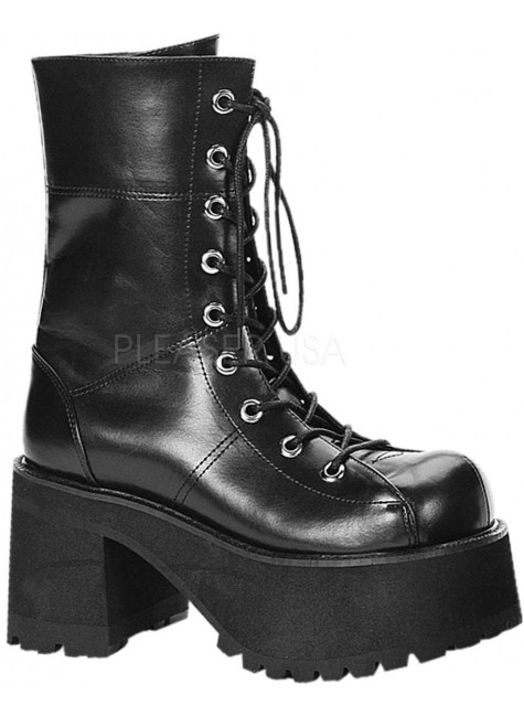 Ranger Womens Platform Combat Boot at Gothic Plus, Gothic Clothing, Jewelry, Goth Shoes & Boots & Home Decor