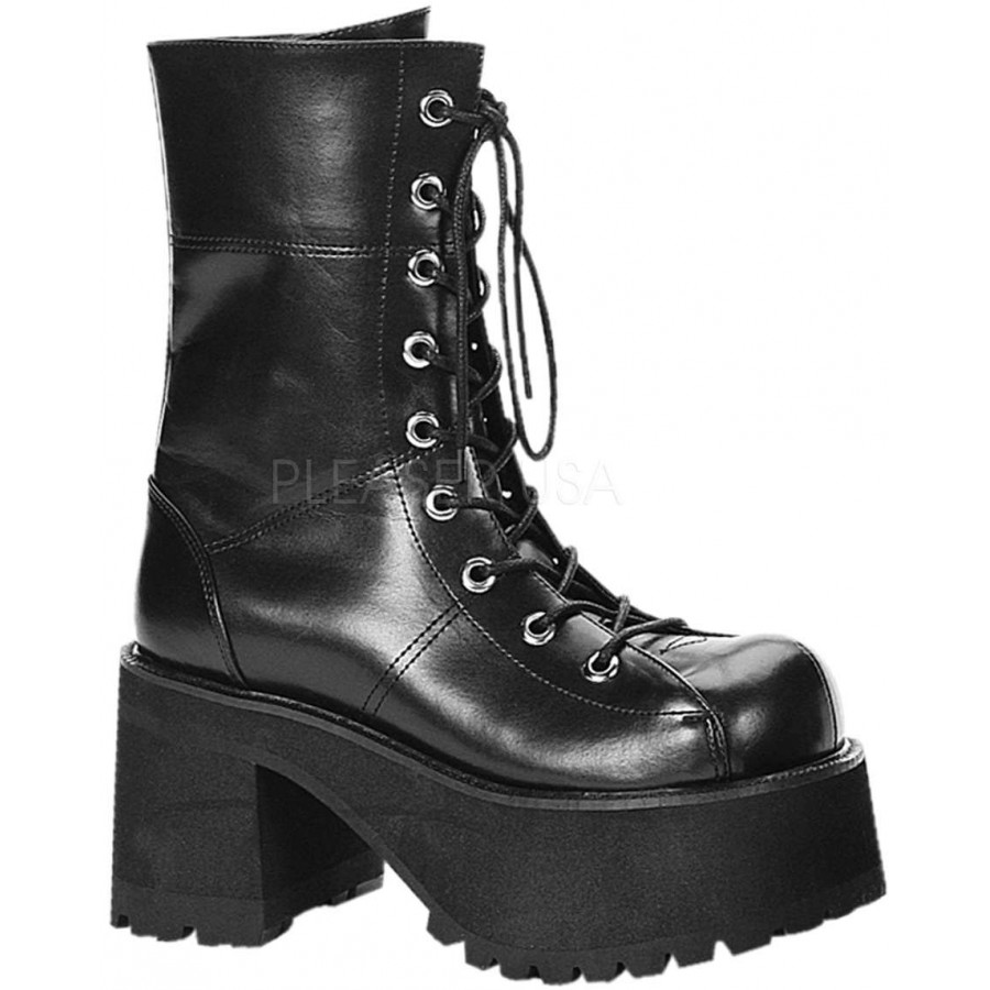 Ranger Womens Platform Combat Boot - Gothic Millitary style Boot ...