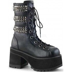 Ranger Studded Womens Platform Combat Boot Gothic Plus Gothic Clothing, Jewelry, Goth Shoes & Boots & Home Decor