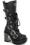 Sinister Buckled Womens Motorcycle Boot