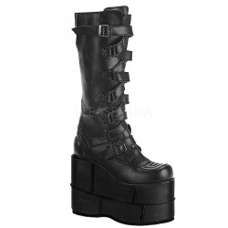 Mens Extreme Platform Knee Boot with Lace Up Strap Gothic Plus  Gothic Clothing, Jewelry, Goth Shoes, Boots & Home Decor