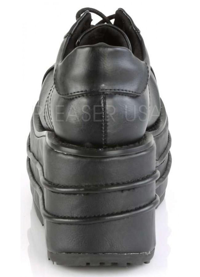 2da3822fe9d1 Tempo Unisex Vegan Leather Platform Sneaker - Men s Platform Shoes